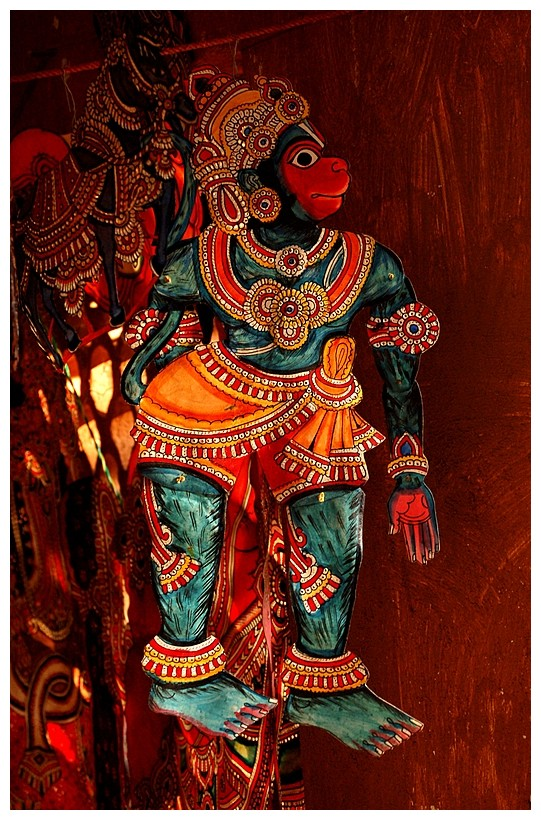 Puppet of Lord Hanuman