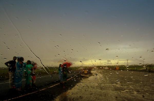 March rains at Chennai!