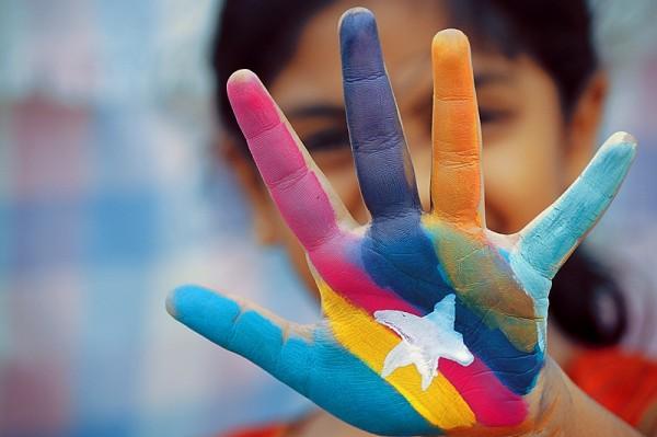 Paint my hands!