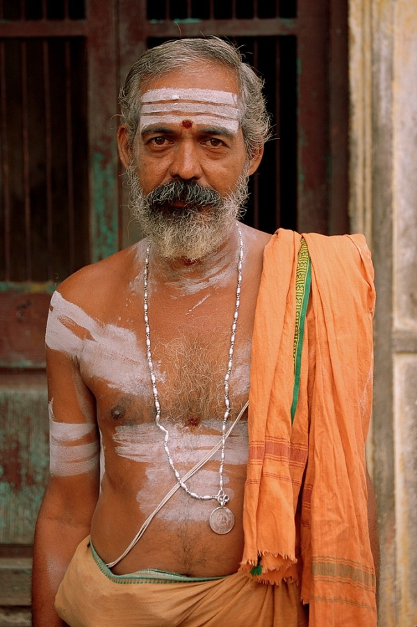 Mylapore man near the temple