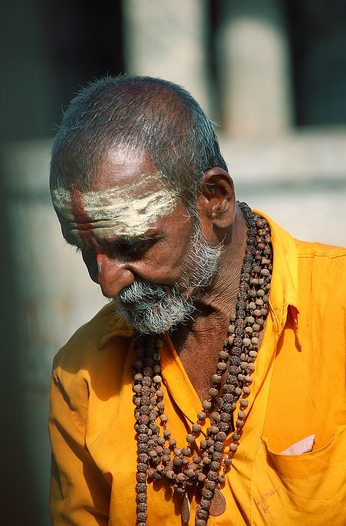 "The ""Rudraksh"" man"
