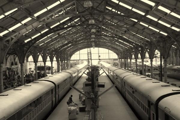 On rails...