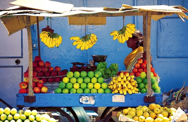 Fruit shop near Mylapore...