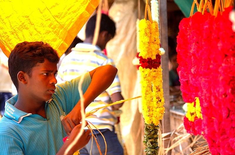 Muthu, the Garlandmaker!