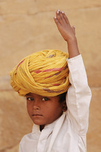 Boy with the yellow turban