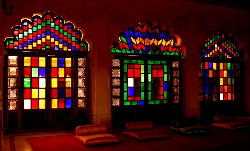 Exquisite interiors of Moti Mahal!