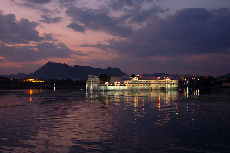 Lake Palace at twilight!
