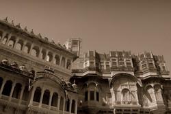 Intricate inside view at Mehrangarh!