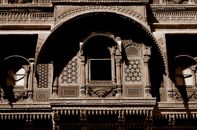 The Haveli Window!