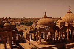 Deserted tones of Jaisalmer!