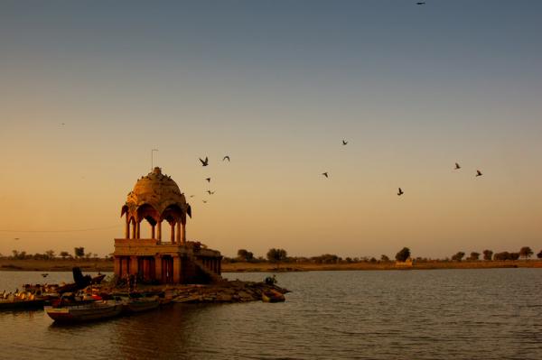 Twilight break at Jaisalmer!