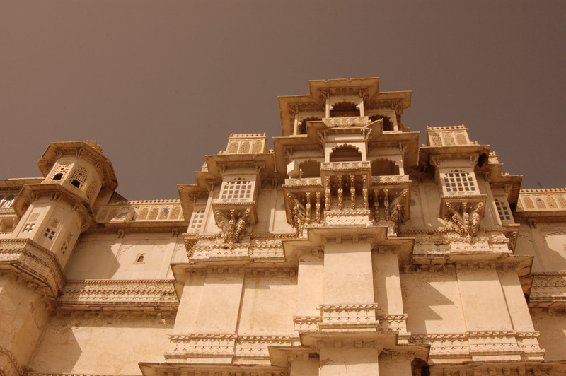 Intricate details of the City Palace