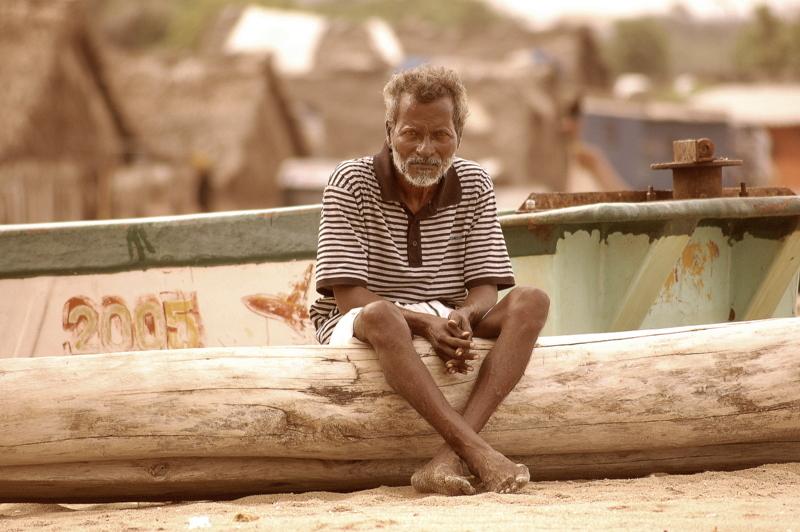 The veteran fisherman