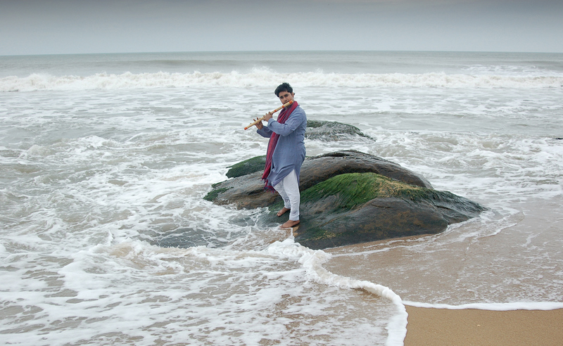 Wind instrument on the shores!