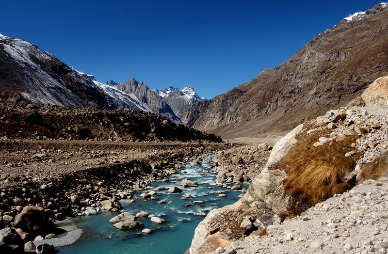 Along the Chandra river...