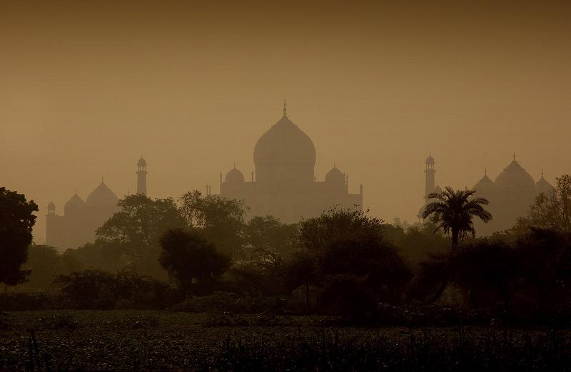Taj Mahal Agra Mehtab bagh