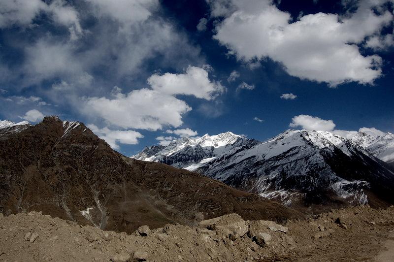 Gramphu Spiti Himalayas Rohtang Pass