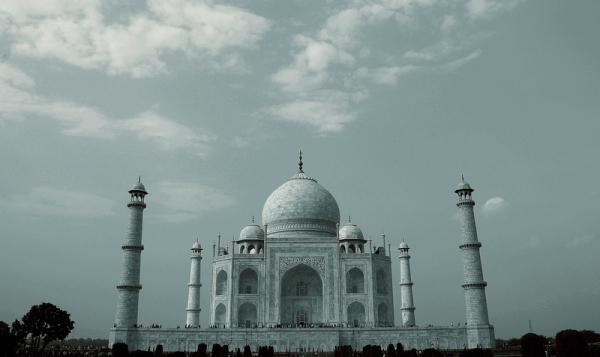Taj Mahal Symetry