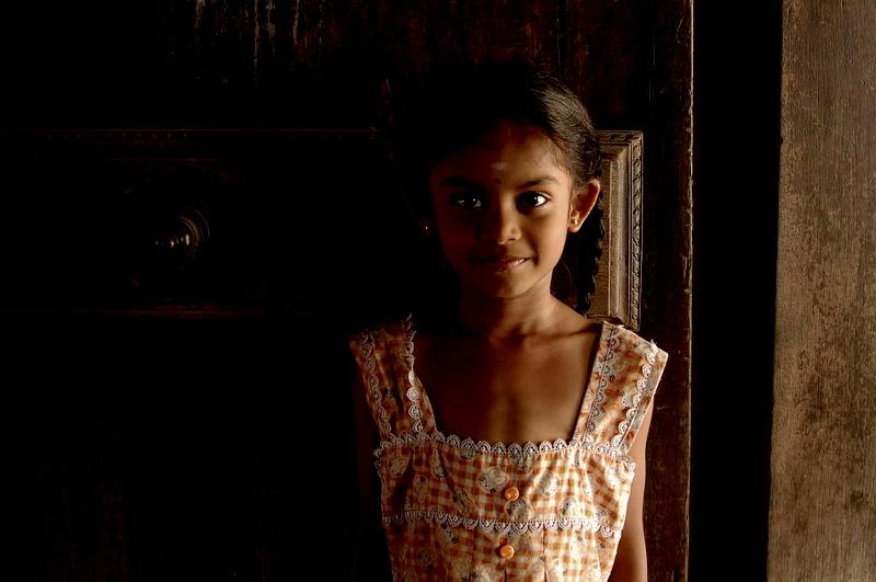 Little girl at Thiruttani