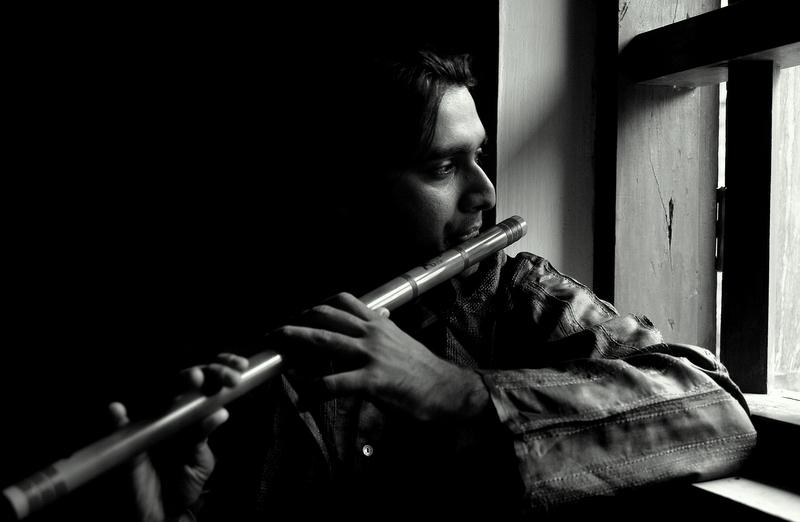 Vijay on Flute