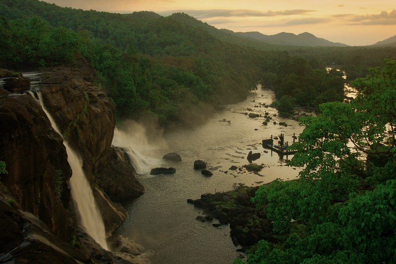 Athirapally Waterfalls!