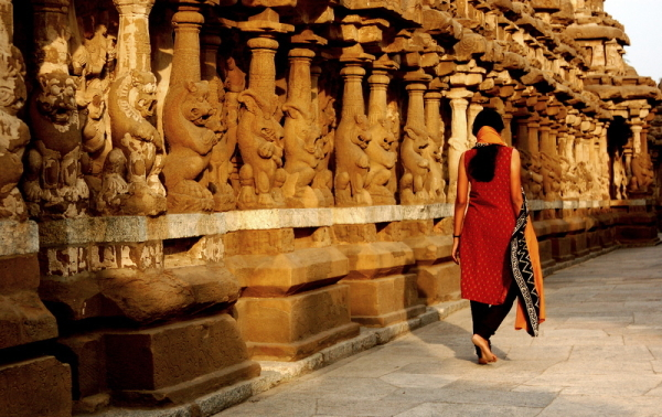 A walk across the Pallavan corridors!