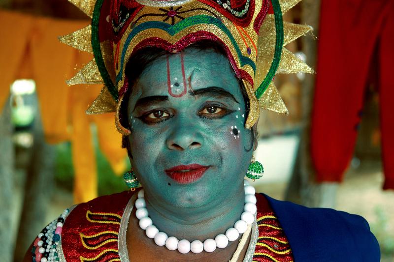 Oh yeah... He is the Krishna look alike!