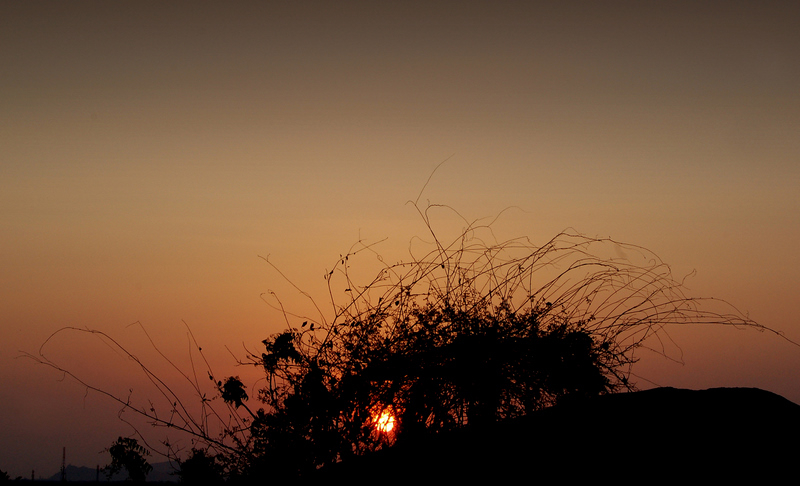 The mahabs sunset