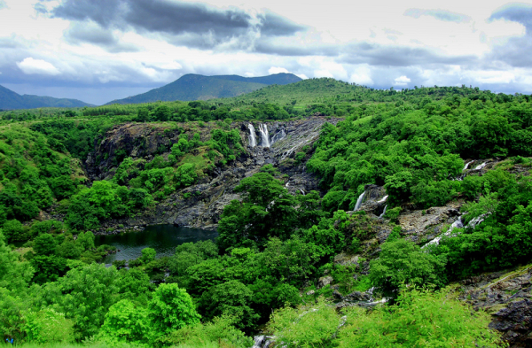 The Echoes of Barachukki falls