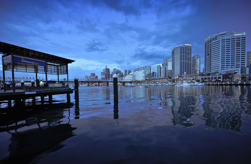 The charm of the Darling Harbour