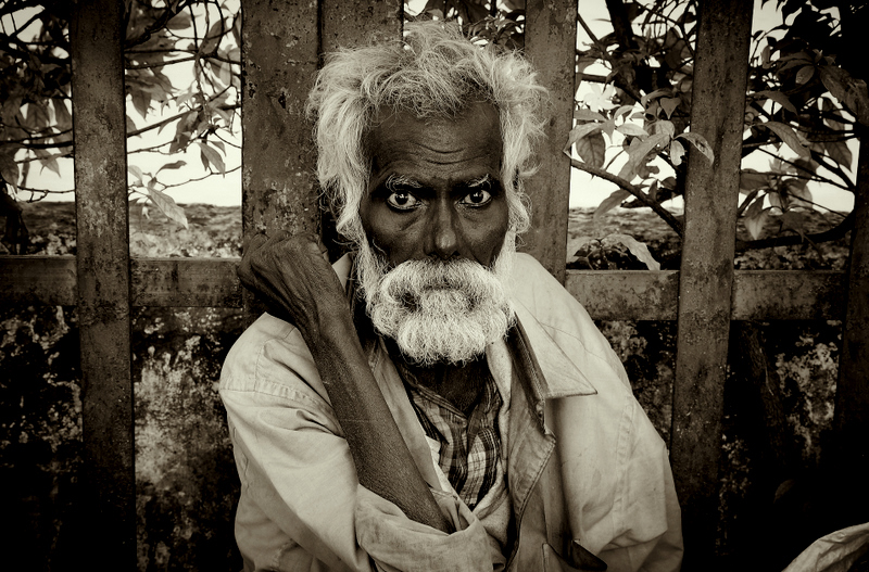 Eyes of the Rickshaw-man!