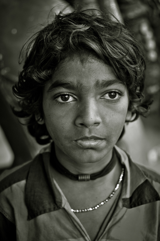 The boy who sold necklaces