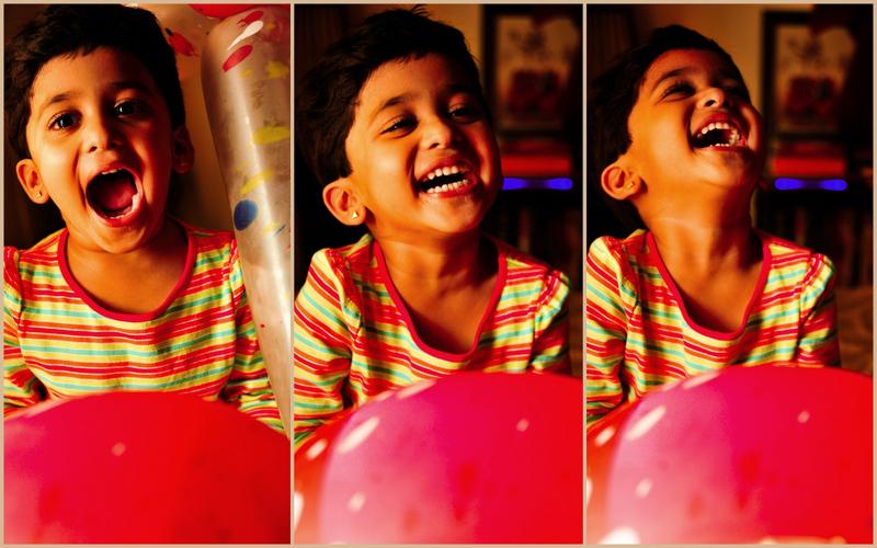 More joy around the red balloon!