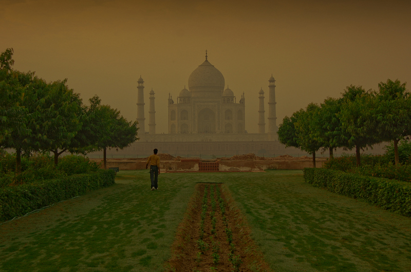 Mughal in the morning mist