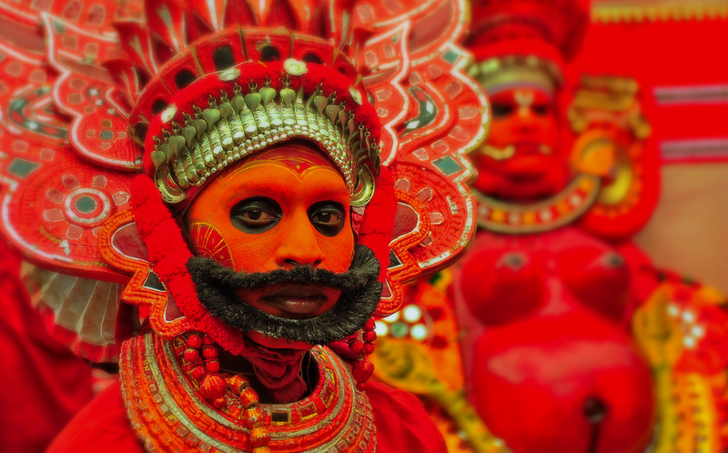 Expressions of Theyyam