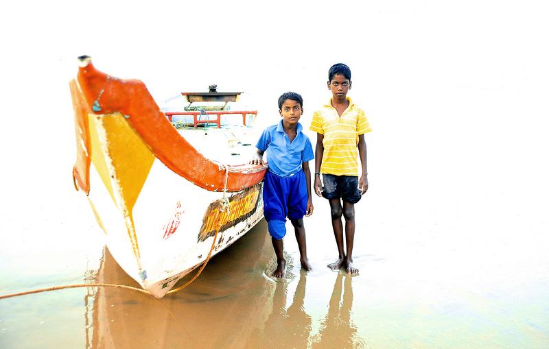 The 2 little fishermen