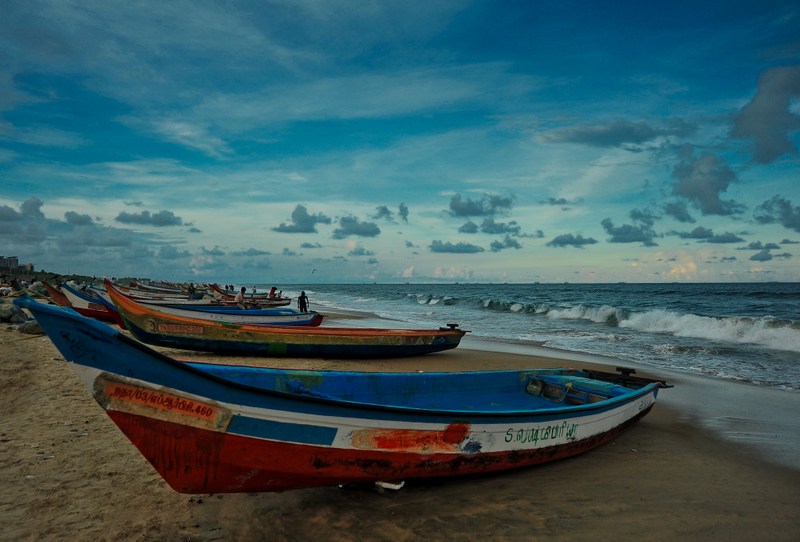 Boats, Blues and the Beach