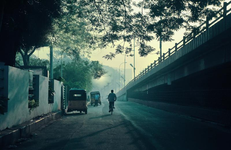 Bhogi morning at RK Salai