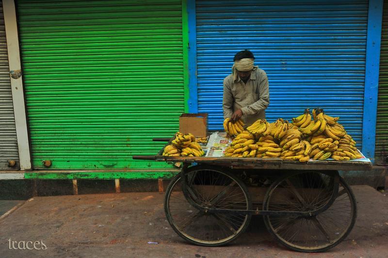 Bananas at Chandni Chowk