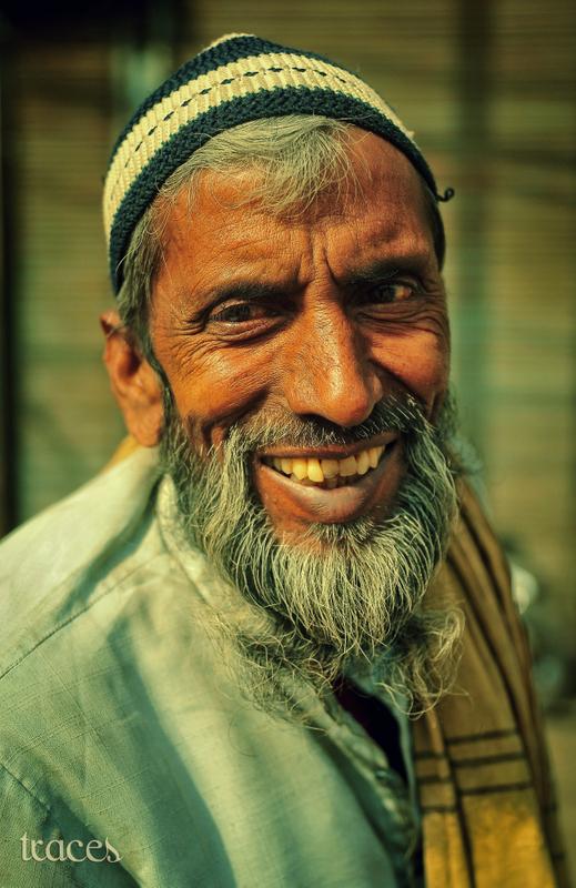 Ibrahim, the rickshaw puller!