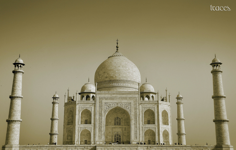 Face to face with the Taj