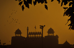 Fine Morning at the Red fort
