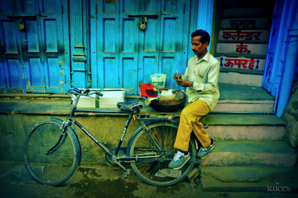 Mobile Pan at Chandni Chowk