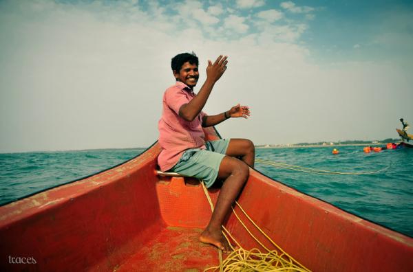 The shy fisherman