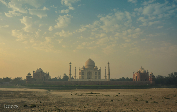 From the backside of Taj