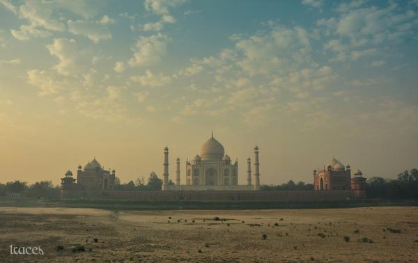 From the backside of Taj