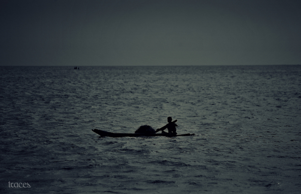 Lonely fishing!