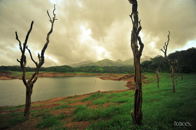 Water on the foothills of Brahmagiri