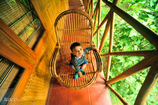 First experience on a tree house