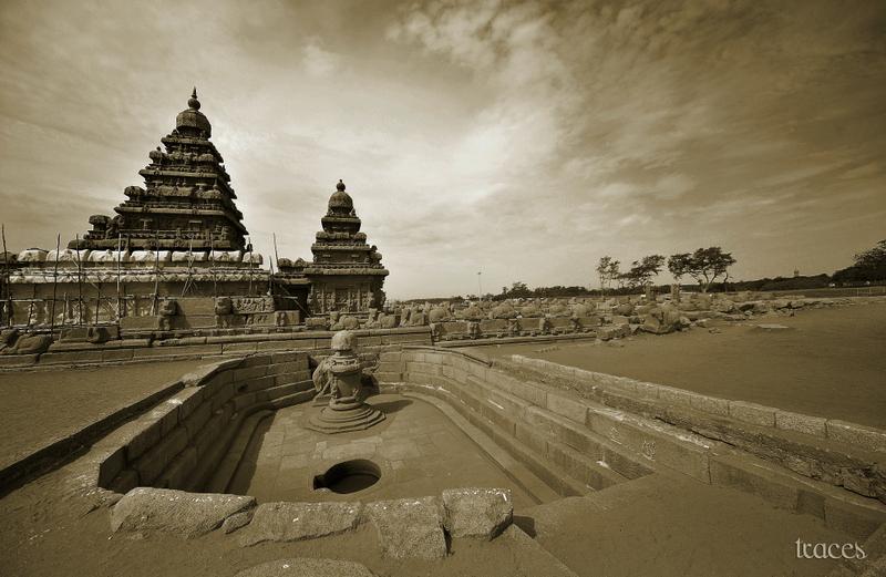 The lone Pallava warrior!